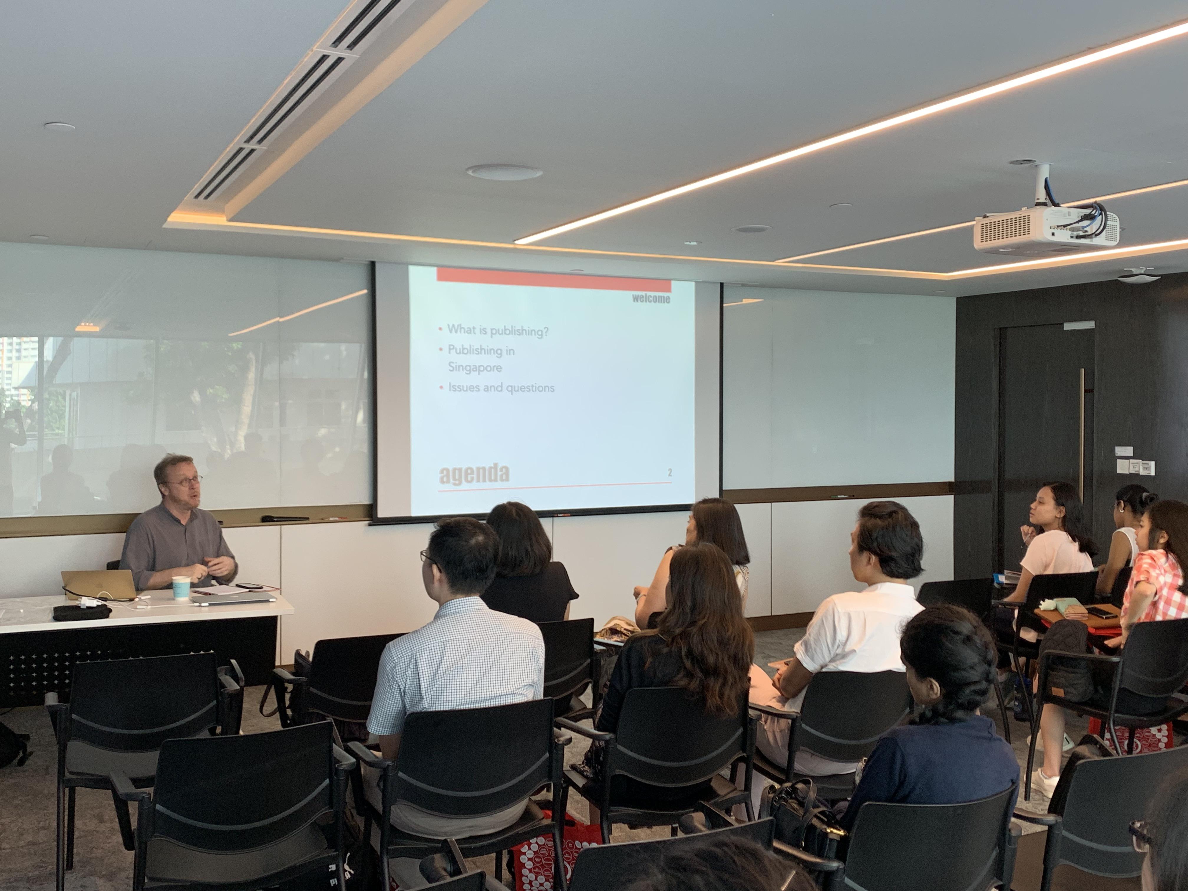 Singapore Book Publishers Association - Internship Programme