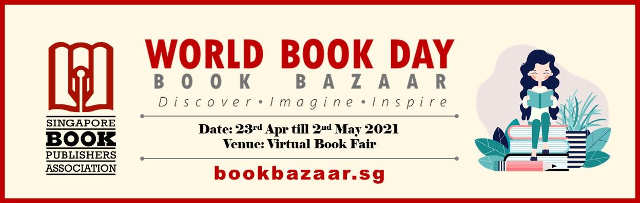 Singapore Book Publishers Association Main Banner World Book Day 2021 Book Bazaar