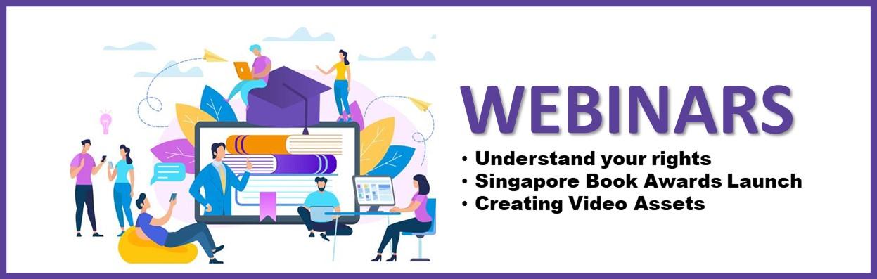 Singapore Book Bazaar - Webinar