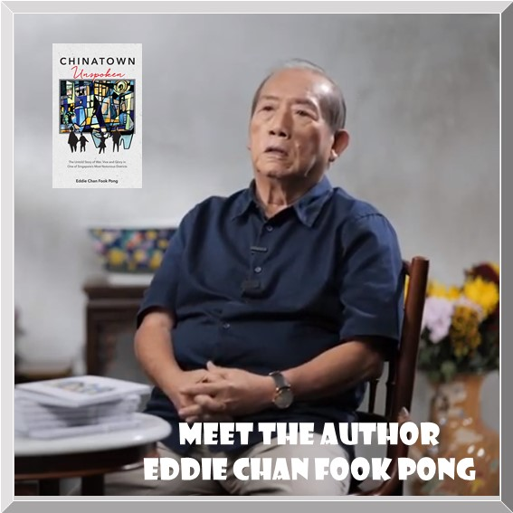 Meet Author Eddie Chan Fook Pong