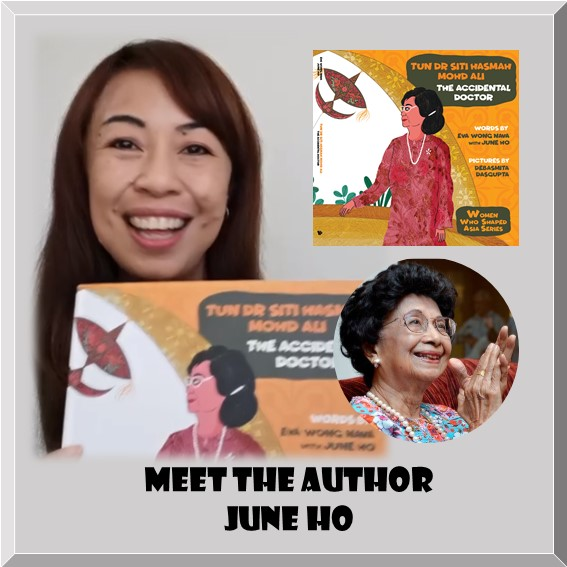 Meet Author June Ho