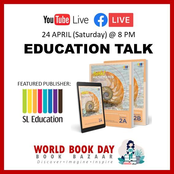Singapore Book Publishers Assocication Education Talk SL Education Icon