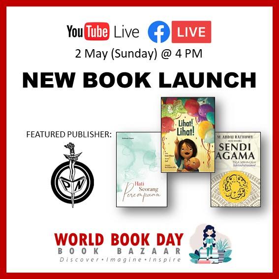 Singapore Book Publishers Assocication New Book Launch Pustaka Nasional Icon