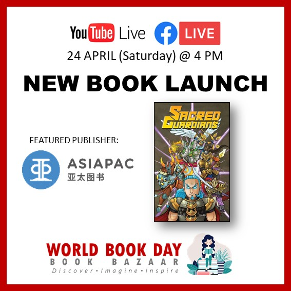 Singapore Book Publishers Assocication New Book Launch Asiapac Icon