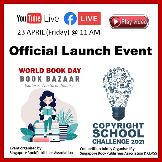 Singapore Book Publishers Assocication Official Launch Event Icon