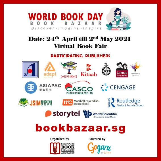 Singapore Book Publishers Assocication Participating Members Icon